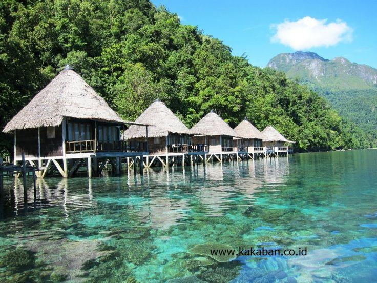 Ora Beach Sawai Seram Maluku