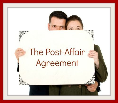 how to save your relationship after an affair