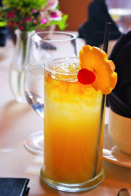 przepis na pyszny napój pomarańczowy