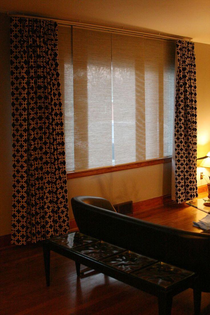 die besten 25 schiebevorhang ikea ideen auf pinterest. Black Bedroom Furniture Sets. Home Design Ideas