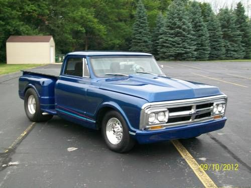 Gmc C C Hot Rod Shop Truck Inch Wheels Stepside Chevy Nice Driver besides  additionally  together with Chevrolet C Stepside Pickup likewise Large B Chevrolet Stepside C Bdriver Front Side View. on 1967 chevy c10 stepside for sale