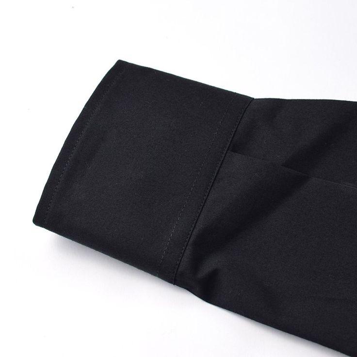 Camisa Lisa Negro (2)