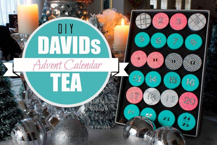 Easy DIY Advent Calendar - DAVID's TEA Inspired