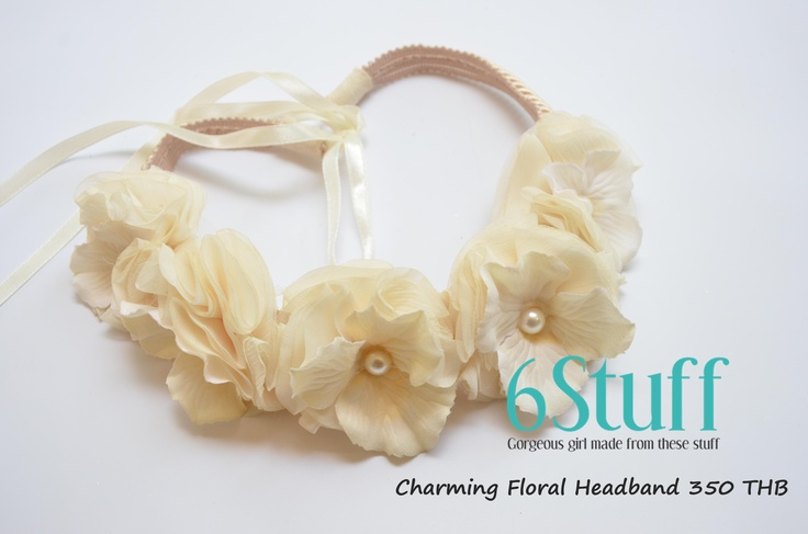 Charming Floral Headband $12: Headbands 12, Charms Floral, Floral Headbands, Gorgeous Girls