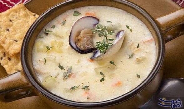 وصفة تقديم حساء فواكه البحر للاستفادة من فوائده حساء السي فود من أنواع الطعام ذات القيمة الغذائية العالية فهي تمد الجسم بالفوسفور وتبعث Food Recipes Soup