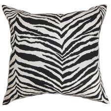 Cecania Zebra Print Bedding Sham