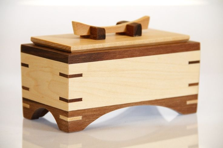 Box No. 25 - Small Wooden Box With Lid