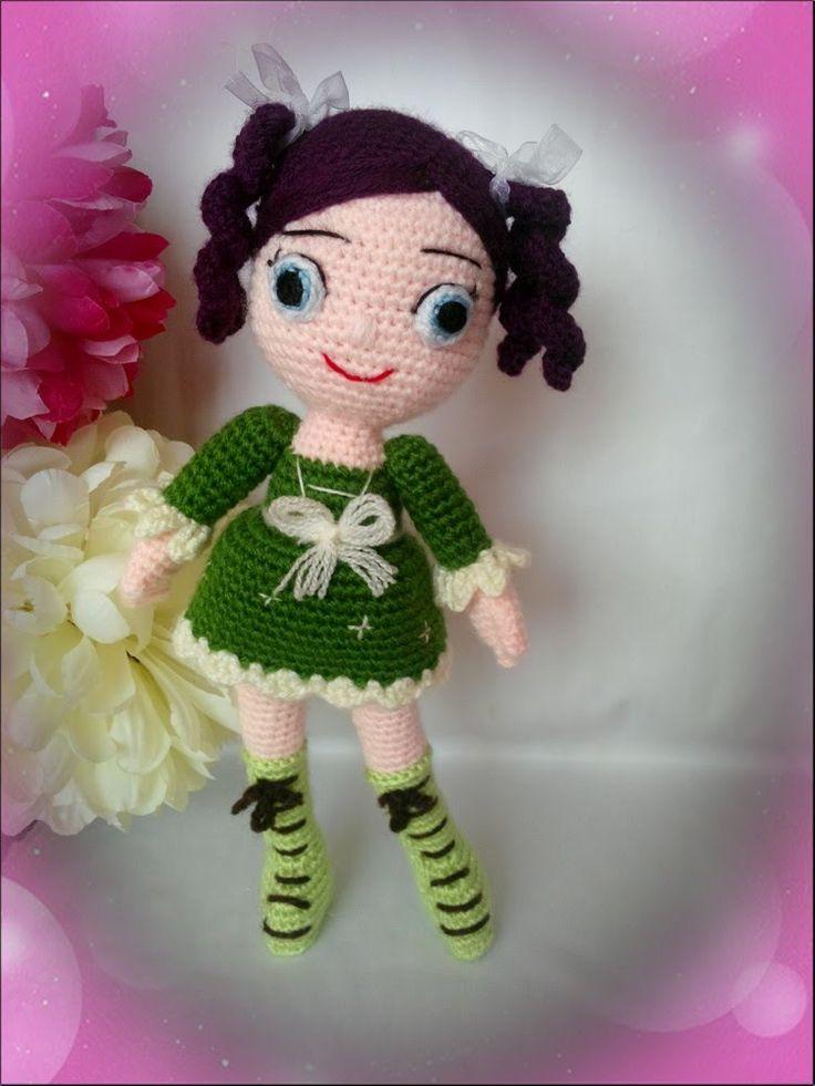 Amigurumide süslü bebek nasıl yapılır? Görselli anlatımı - How to croche...