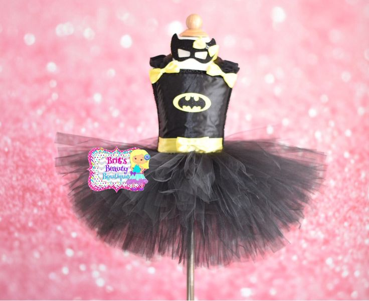 Inspired by Batman Inspired Tutu Dress/Costume/Halloween/Dress/Pageant Wear/Mask/Infant/Toddler/Girl by BrittsBeautyBoutique on Etsy https://www.etsy.com/listing/240835889/inspired-by-batman-inspired-tutu