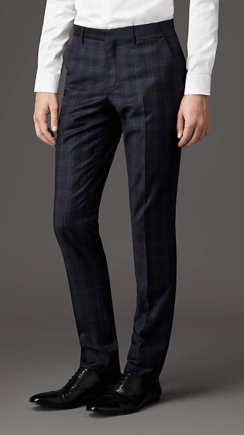 382a83858a86 Burberry London Slim Fit Virgin Wool Trousers  MensJeans   Mens ...