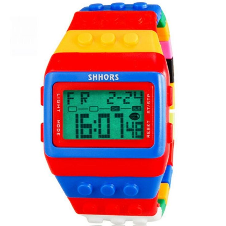 Shhors Lego Watch in Jewelry & Watches, Watches, Wristwatches   eBay