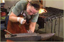 Take a blacksmithing class!