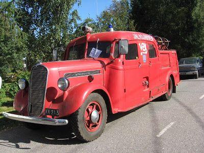 Vanha Jalasjärven paloauto.