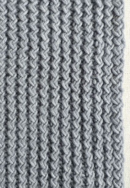 Back Stitch Embroidery On Knitting : Rick Rack Scarf Cast on 46 stitches. (The Rick Rack Rib works over any multip...