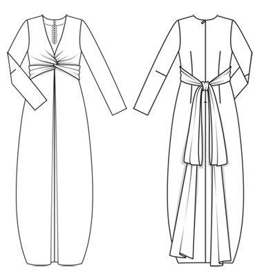 Robe    Schéma du modèle