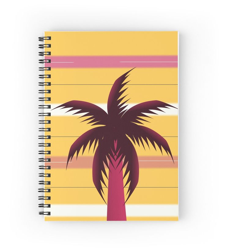 A colorful spiral #notebook for #writing your #summer #memories and #thoughts #diary
