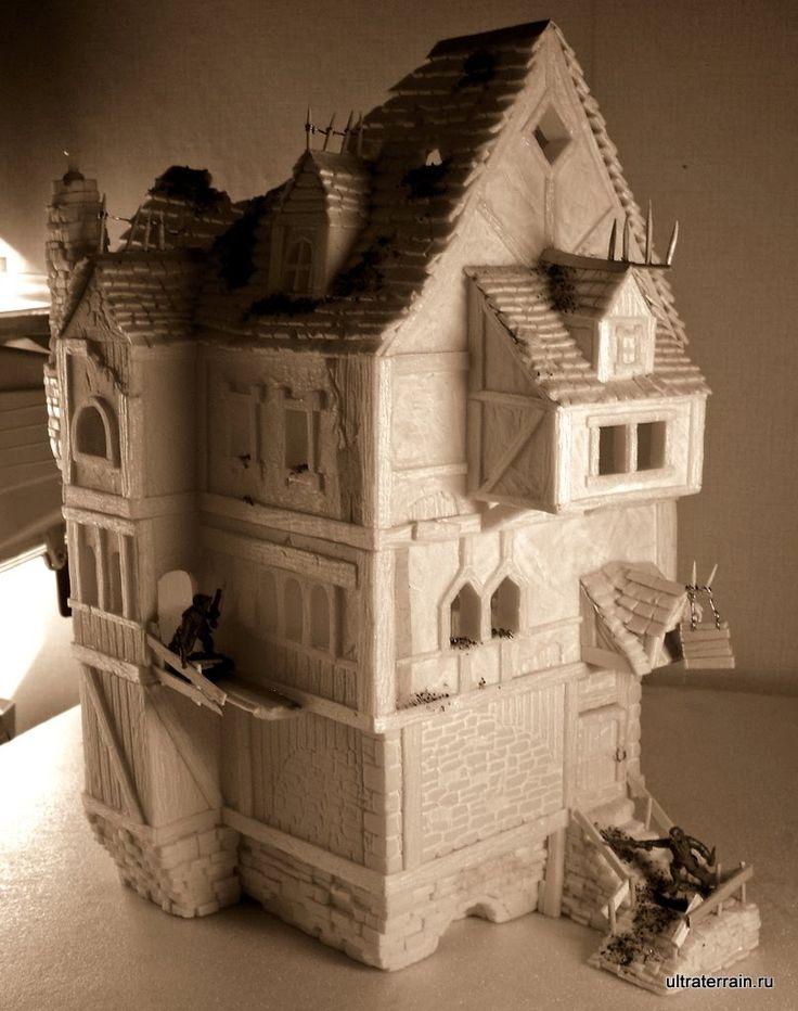 The 316 best Miniature buildings images on Pinterest | Miniatures ...