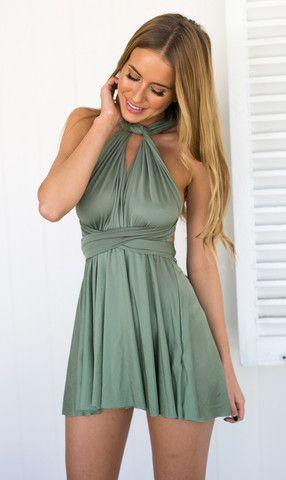 Heartache Dress (Green)
