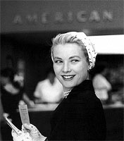Grace Kelly, afterwards Princess Grace of Monaco