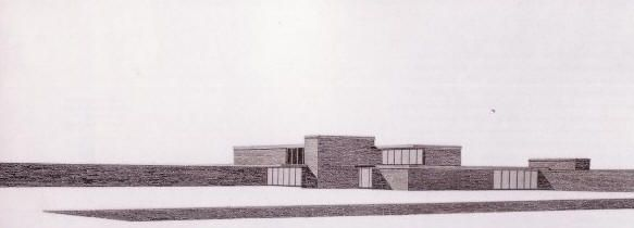 Mies Van Der Rohe The Brick Country House Project Unbuilt 1924 Arquitectura