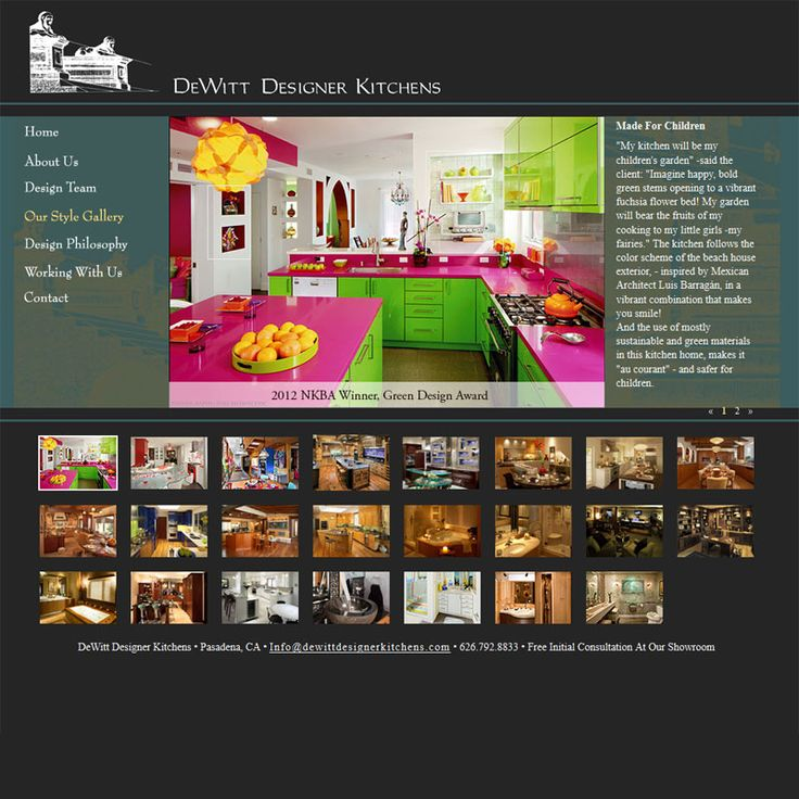 DeWitt Designer Kitchens Website Development DeWitt Designer ...