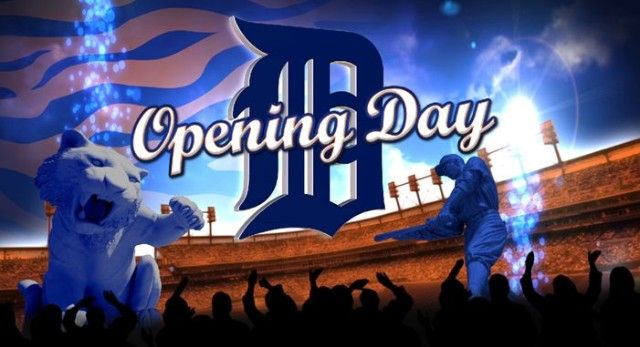 I would like to go to at least one Detroit Tigers opening day before I die ~ Opening Day Detroit Tigers