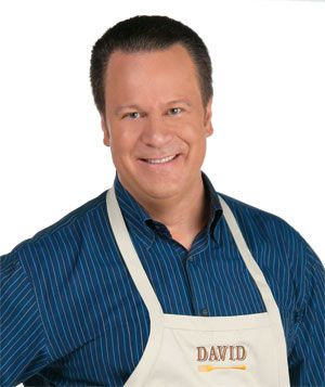 David Venable a lovable gentle man who hosts as a seller of goods and merchandise on the Tv network QVC