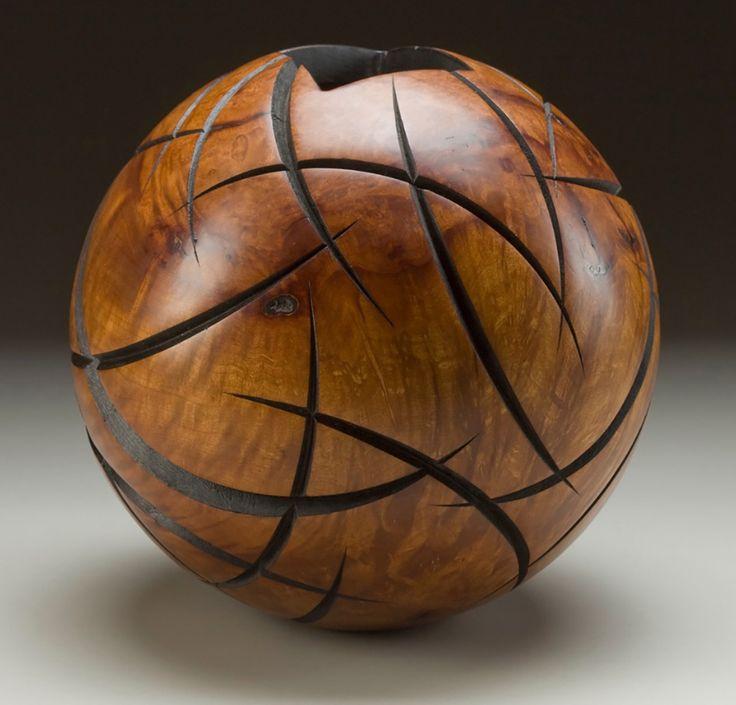 "Spherical Series - 11""-13"" Diameter - Madrone Burl"