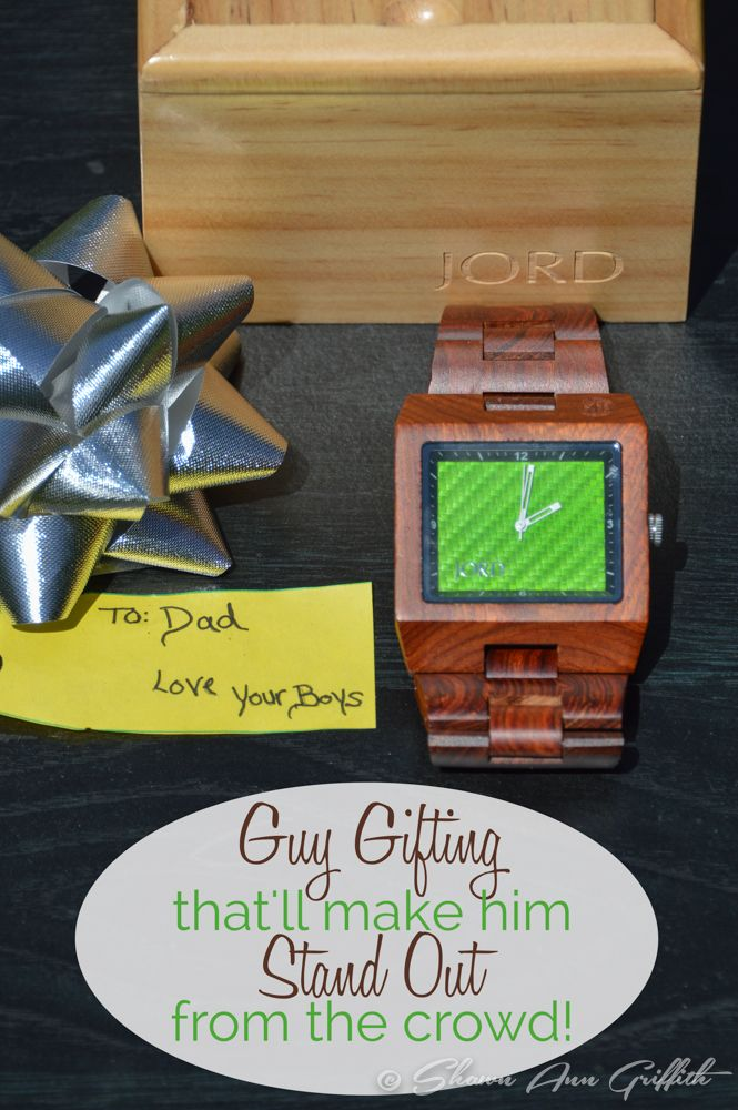 You're a unique individual, and your style says it. Guy Gifting, your man with a JORD Wood Watch, with his favorite color will reflect his unique style.