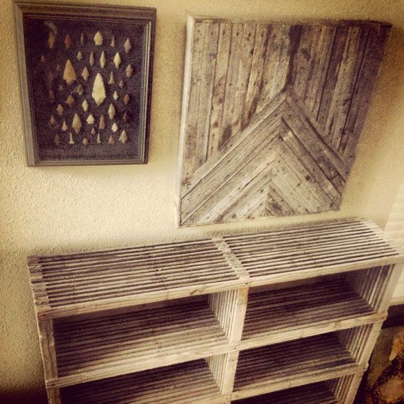 17 mejores ideas sobre arte de la pared de madera en - Paredes de madera decoracion ...