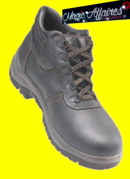 Chaussures sécurité Bottillon économique 9AGAH S1P - MATERIEL PROFESSIONNEL/CHAUSSURE DE SECURITE - magic-affaires-22