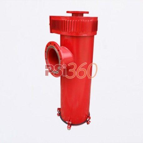 Generator de spuma aeromecanica GSA400, montaj orizontal pe rezervoare cu capac fix, de stocare produse inflamabile.