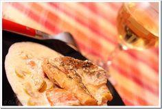 Przy Dużym Stole: ryba na warzywach w sosie śmietanowym, szybki obiad