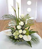 Church Chapel Flower Arrangements   Sympathy Flowers   Sympathy & Funeral Flowers from eFlorist