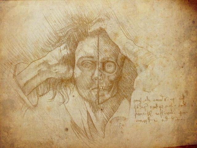 Moderno Anatomía Del Hombre Da Vinci Elaboración - Anatomía de Las ...
