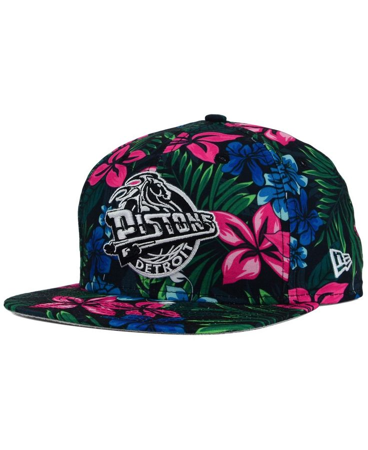 New Era Detroit Pistons Hwc Shadow Floral 9FIFTY Snapback Cap