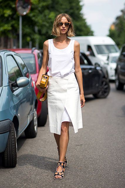 How fashion people are upgrading a favorite summer trend