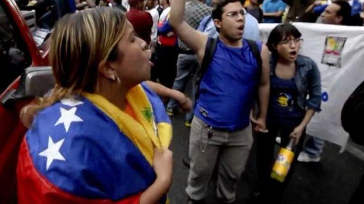 Caracas: protestas por Educación