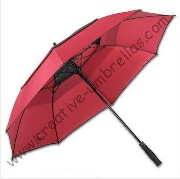 3 persons sport  fiberglass golf umbrella,outdoor fishing umbrellas,auto open.business umbrellas,double layer,windproof #Affiliate