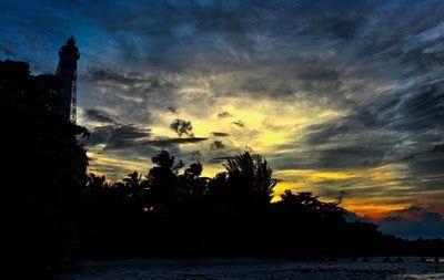 Pemandagan Sore Hari Di #PulauBiawak