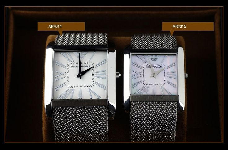 AR2014 AR2015 original Armani Watch For Men/Women New Trend Watch For Lovers Stainless   Original Box
