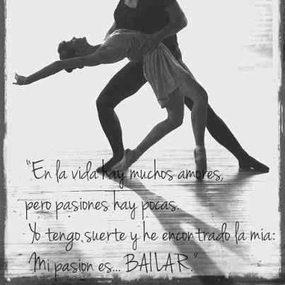 Mi pasion es bailar!