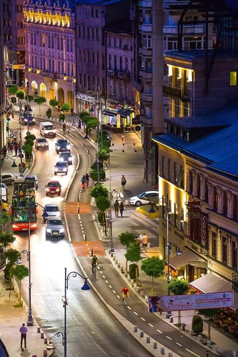 Calea Victoriei, Bucharest. Take a tour of the most famous avenue of the 19th century! #Romania