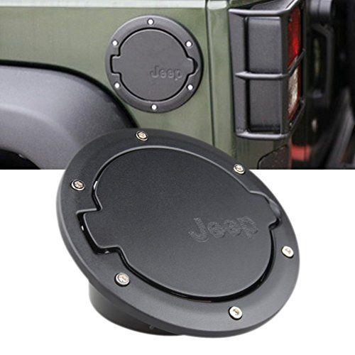 GXG-1987 Fuel Filler Door Cover Gas Tank Cap 4-Door 2-Door for 2007-2016 Jeep Wrangler JK & Unlimited. For product info go to:  https://www.caraccessoriesonlinemarket.com/gxg-1987-fuel-filler-door-cover-gas-tank-cap-4-door-2-door-for-2007-2016-jeep-wrangler-jk-unlimited/
