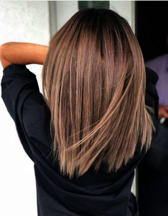 Friseursalon In Meiner Nahe Fur Frauen Paar Haarschnitt In Meiner Nahe Verkauf Frauen Fri Brunette Haarfarbe Haarschnitt Mittellanger Haarschnitt