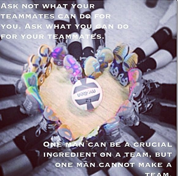 Motivational Quotes For Sports Teams: 53 Best Volleyball Love Images On Pinterest