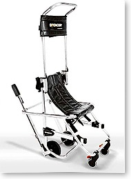 Spencer Skid Silver Evacuation Chair  Contact Evacuation Chairs Australia: www.evacuationchairs.com.au  Bus: +61 3 9001 5806   1300 669 730