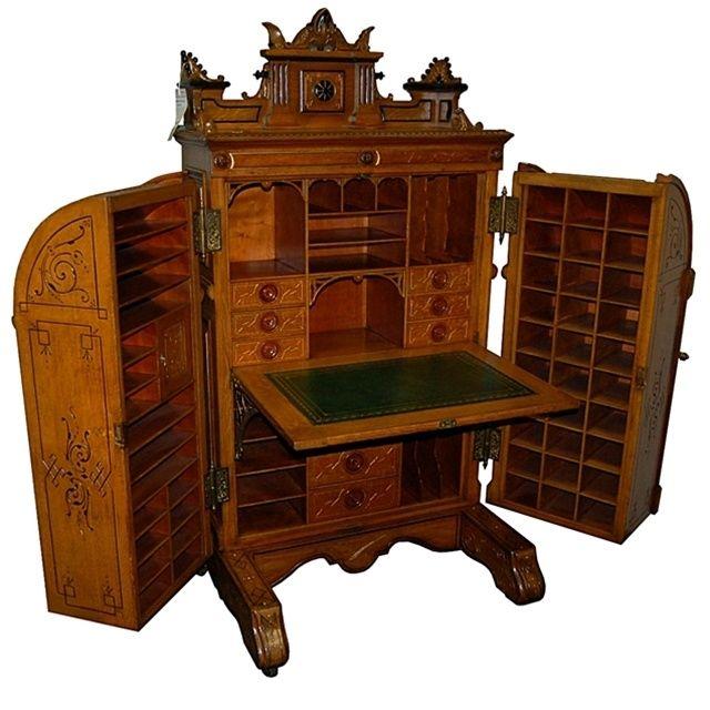 les 295 meilleures images du tableau steampunk habitat sur pinterest bureau antique meubles. Black Bedroom Furniture Sets. Home Design Ideas