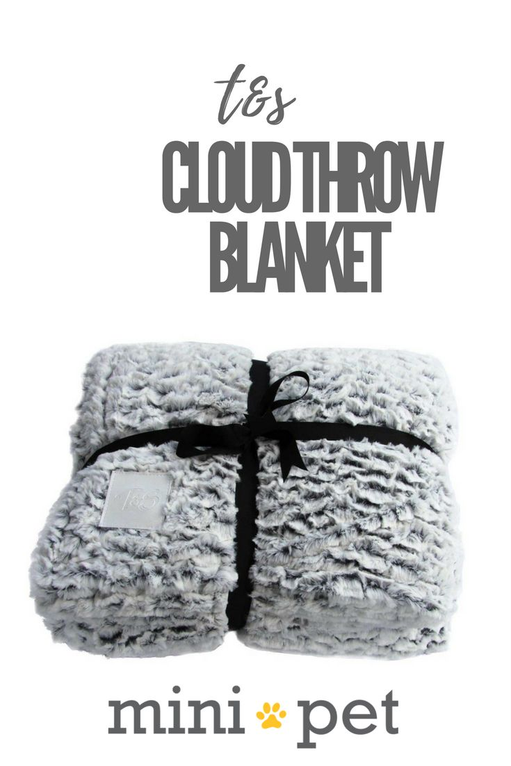[SALE] The T&S Soft Grey Cloud Throw Blanket is a perfect match for the snuggly Cloud bed. Perfect for you or your pet, stay warm with this amazingly plush throw blanket.