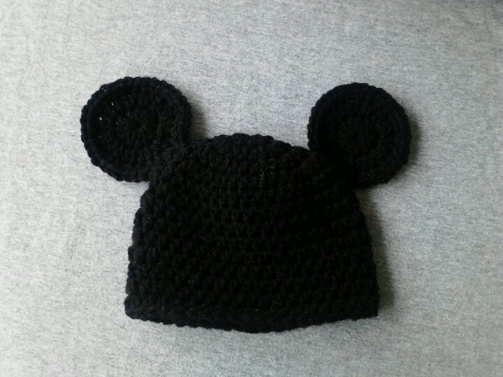 Mickey Mouse Baby Hat Crochet Patterns Patterns Kid